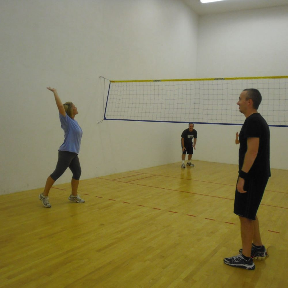 Wallyball – Racquetball Courts